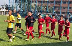 Buổi tập đầu tiên đầy hứng khởi của U16 Việt Nam tại Malaysia