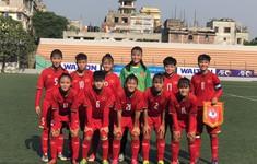 Vòng loại thứ nhất U16 nữ châu Á 2019 (bảng F): Việt Nam thắng đậm Bahrain 14-0