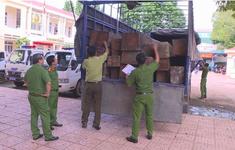 Đắk Lắk phát hiện xe tải chở 31 hộp gỗ lậu