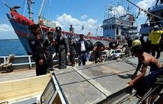 Thái Lan công bố kế hoạch tiêu hủy các tàu đánh bắt cá bất hợp pháp