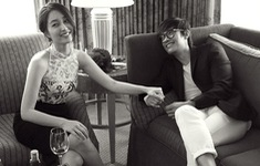 Quý tử nhà Lee Byung Hun và Lee Min Jung bất ngờ lộ diện