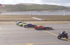 Thổ Nhĩ Kỳ: Siêu xe mô tô đua tốc độ với máy bay và ô tô