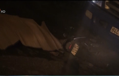 Bến Tre: Xe máy đối đầu xe tải, 1 người tử vong
