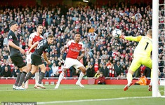 TRỰC TIẾP BÓNG ĐÁ Ngoại hạng Anh, Arsenal 2-0 Everton (H2): Lacazette, Aubameyang liên tiếp ghi bàn