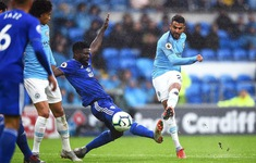 Cardiff 0-5 Manchester City: Tân binh Mahrez toả sáng rực rỡ