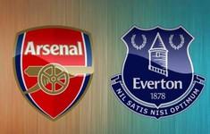 TRỰC TIẾP BÓNG ĐÁ Arsenal - Everton: Cập nhật đội hình xuất phát