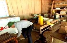 Điện Biên: Xuất hiện vết nứt dài hàng trăm mét từ trên núi