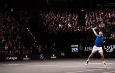 Federer đánh bại Kyrgios, ĐT châu Âu duy trì ưu thế tại Laver Cup