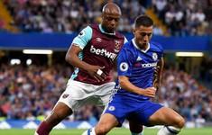 TRỰC TIẾP BÓNG ĐÁ Ngoại hạng Anh, West Ham 0-0 Chelsea (H1): Hazard trở lại, Giroud thế chỗ Morata