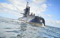 Phát hiện vật thể nghi xác tàu ngầm Argentina mất tích