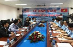 Mỹ bàn giao máy soi hàng hóa cho Hải quan cho Việt Nam