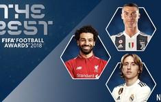 00h30 ngày mai (25/9), trao giải FIFA The Best 2018: Ronaldo còn có cơ hội?