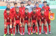 U16 nữ Việt Nam giành vé tham dự vòng loại thứ hai giải bóng đá U16 nữ châu Á 2019