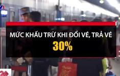 """Đường sắt Hà Nội ra """"kế sách"""" ngăn đầu cơ vé tàu"""