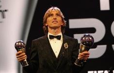 Giành giải FIFA The Best 2018, Modric gọi đó là giấc mơ thành hiện thực