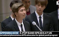 Nhóm BTS phát biểu tại Liên Hợp Quốc