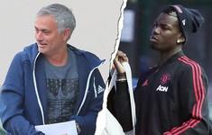 Man Utd đại loạn: Jose Mourinho tước băng đội trưởng của Paul Pogba