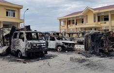 Xét xử lưu động 15 đối tượng gây rối ở Bình Thuận
