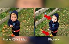 Ảnh chụp trên iPhone XS khác thế nào so với iPhone X?
