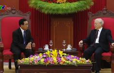 Tổng Bí thư Nguyễn Phú Trọng tiếp Phó Chủ tịch nước Lào