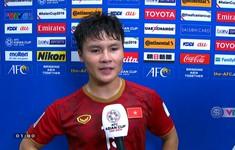 """Quang Hải: """"Cảm ơn đồng đội vì đã thi đấu nỗ lực trong suốt trận đấu"""""""