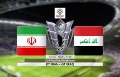 VIDEO Highlights Asian Cup 2019: ĐT Iran 0-0 ĐT Iraq (Bảng D)