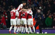 VIDEO: Highlight Arsenal 2-0 Chelsea (Vòng 23 Ngoại hạng Anh)