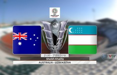 VIDEO: Highlights ĐT Australia 0-0 (pen 4-2) ĐT Uzbekistan (Vòng 1/8 Asian Cup 2019)
