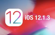 Apple cập nhật iOS 12.1.3, sửa một số lỗi trên iPhone và loa thông minh HomePod
