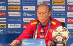 Họp báo: Thầy trò HLV Park Hang Seo tự tin đối đầu với ĐT Nhật Bản