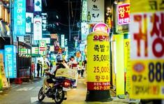 Shipper Hàn Quốc đối mặt với tử thần khi đi giao đồ ăn