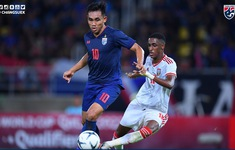 TRỰC TIẾP BÓNG ĐÁ ĐT Thái Lan 2-1 ĐT UAE (H2): Chủ nhà áp đảo!