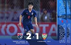 VIDEO Highlights: ĐT Thái Lan 2-1 ĐT UAE (Vòng loại World Cup 2022)