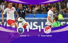ĐT Pháp 1-1 ĐT Thổ Nhĩ Kỳ: Ngôi đầu không đổi! (Bảng H, Vòng loại EURO 2020)