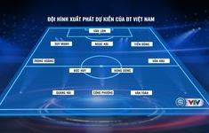 Đội hình dự kiến ĐT Việt Nam trong trận gặp ĐT Indonesia (Vòng loại World Cup 2022): Đức Huy thay Tuấn Anh