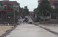 Hà Tĩnh: Mưa lớn kéo dài gây ngập cục bộ