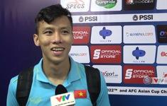 Cảm xúc đặc biệt của Quế Ngọc Hải sau chiến thắng trước ĐT Indonesia