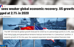 Kinh tế toàn cầu sẽ hồi phục chậm hơn trong năm 2020