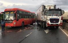 Tai nạn giao thông liên hoàn trên Quốc lộ 1 qua Khánh Hòa