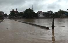 Hàng nghìn học sinh ở Hà Tĩnh phải nghỉ học do mưa lũ