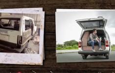 Chế xe cũ thành… nhà di động