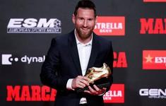 Messi nhận danh hiệu Chiếc giày vàng châu Âu lần thứ 6