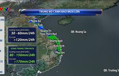 Miền Trung tiếp diễn mưa lớn, nguy cơ cao xảy ra lũ lớn cục bộ