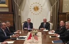Thổ Nhĩ Kỳ đồng ý ngừng bắn ở miền Bắc Syria