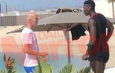 Pogba bất ngờ gặp Zidane ở Dubai