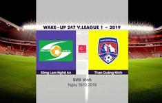 VIDEO Highlights: Sông Lam Nghệ An 0-0 Than Quảng Ninh (Vòng 25 V.League 2019)