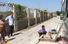 Hết ngày 20/10, phấn đấu thau rửa xong các bể chứa sử dụng nguồn nước sông Đà