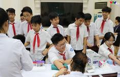 Xét nghiệm sàng lọc tan máu bẩm sinh cho 2.500 học sinh ở Hà Nội