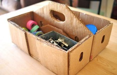 Hướng dẫn làm chú mèo xinh xắn từ thùng carton