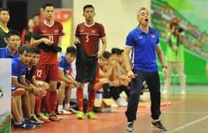 HLV Rodrigo (ĐT futsal Việt Nam): Kết quả hòa Indonesia không phải là may mắn